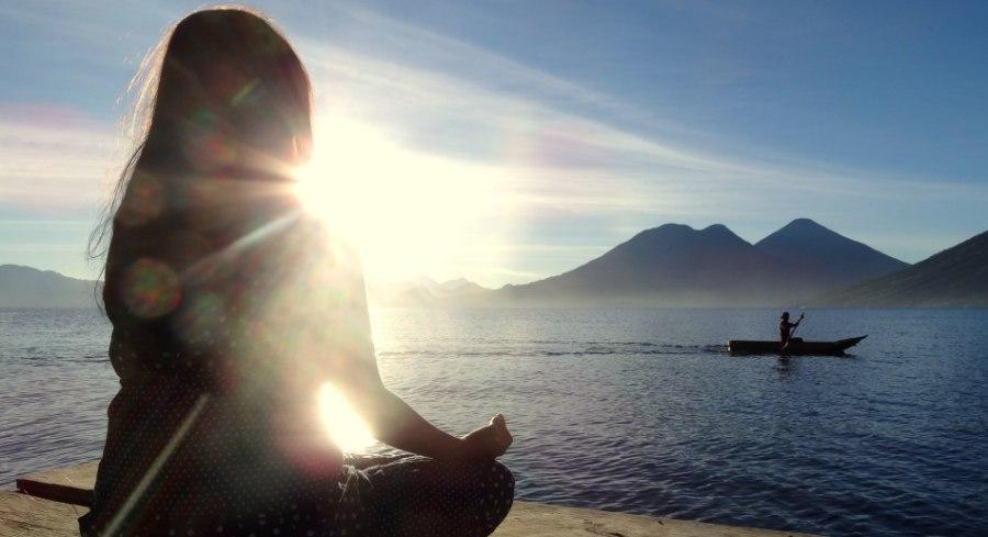 Meditation at Villa Sumaya Lake Atitlan Guatemala